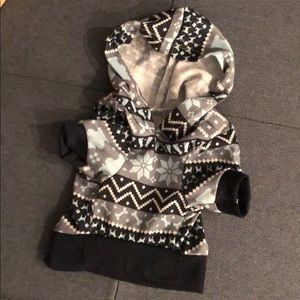 Other - NWOT Dog Clothes BUNDLE! Puppy Hoodie XS/Treat Toy